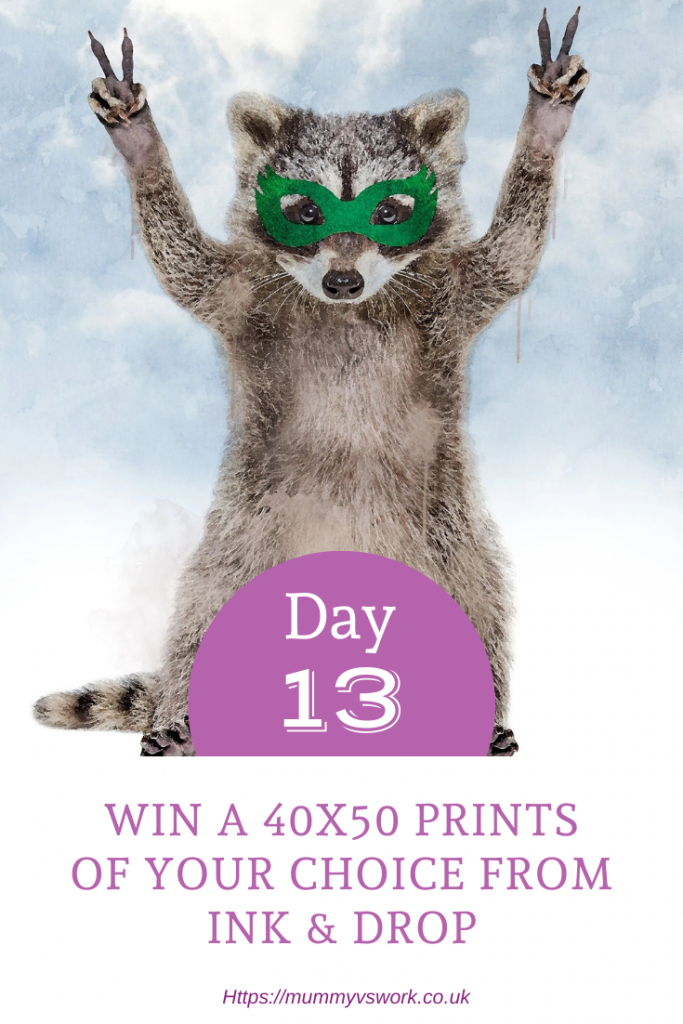 Day 13 - Win a 40x50 prints of your choice from Ink & Drop