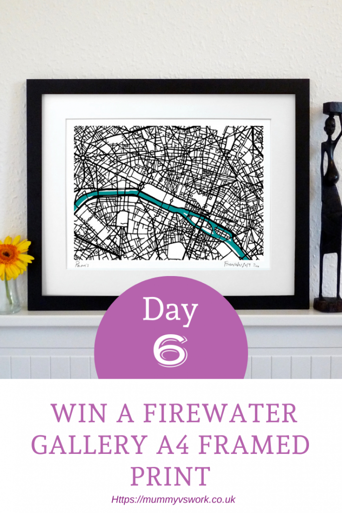 Win a Firewater Gallery A4 framed print
