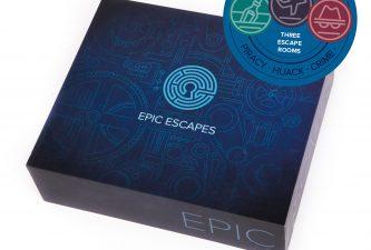 *Prize draw* Win an Escape Room In A Box (3in1)